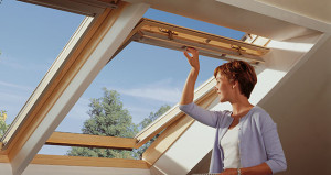 tetőtéri ablakok szellőztetése