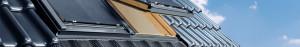 Velux tetőtéri ablak hővédó rolóval