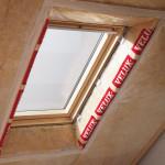 Velux BBX párafékezó fólia a tetőtéri ablakhoz