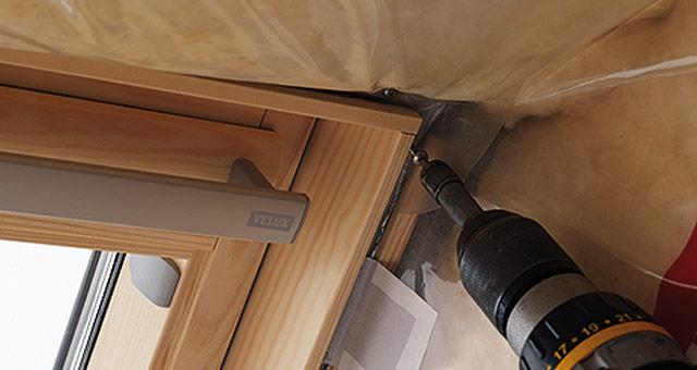 BBX párazáró fólia, Velux tetőtéri ablakhoz