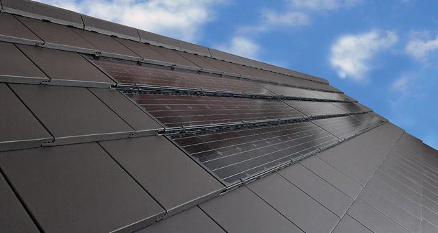 Bramac tetőbe integrált fotovoltaikus napelem