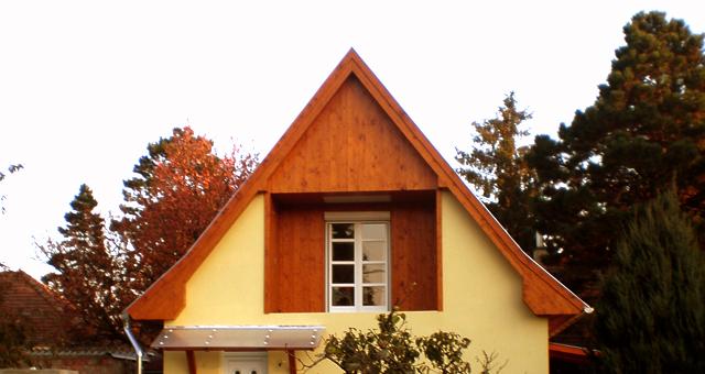 Lambériázott tető
