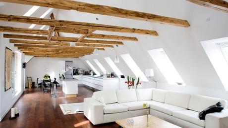 VELUX tetőablak – Dánia