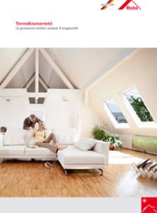 Roto tetőtéri ablakok termékismertetője