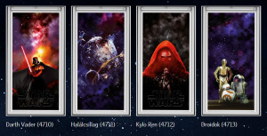 VELUX & Star Wars minták