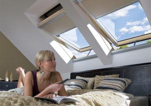 Fakro tetőtéri ablak