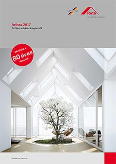 Roto tetőablak árlista 2017