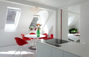 VELUX tetőablak beépítés konyhába