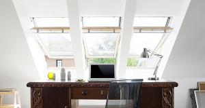 Velux tetőtéri ablakok választható üvegezéssel
