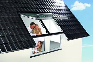 Roto tetőtéri ablak, tetőablak