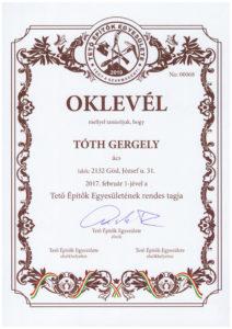 TEGY - Tető Építők Egyesülete
