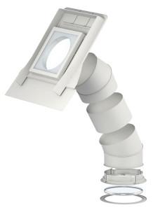 Velux fénycsatorna felépítése