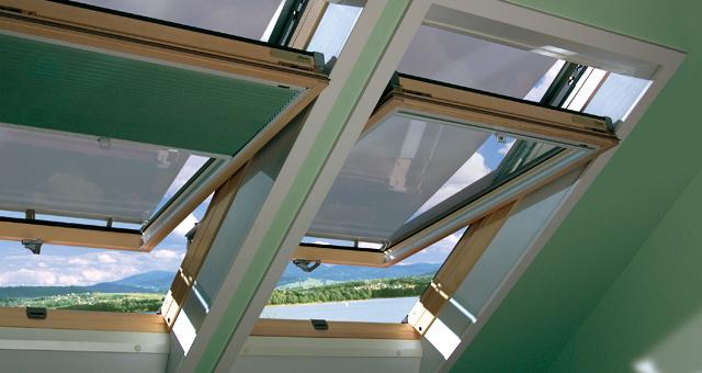 Fakro tetőablakok ikerbeépítéssel