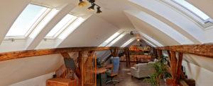 VELUX tetőablakok a Photobalance Stúdióban